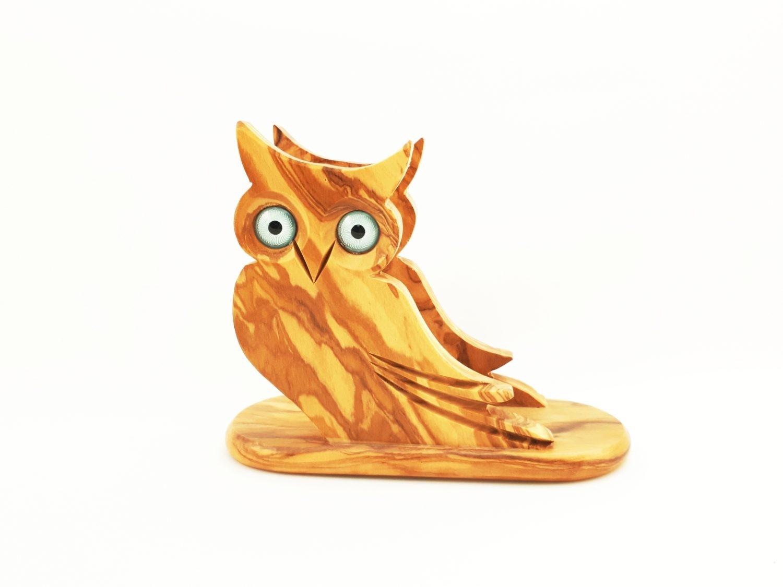 Owl Napkin Holder Aristotleshandcrafts