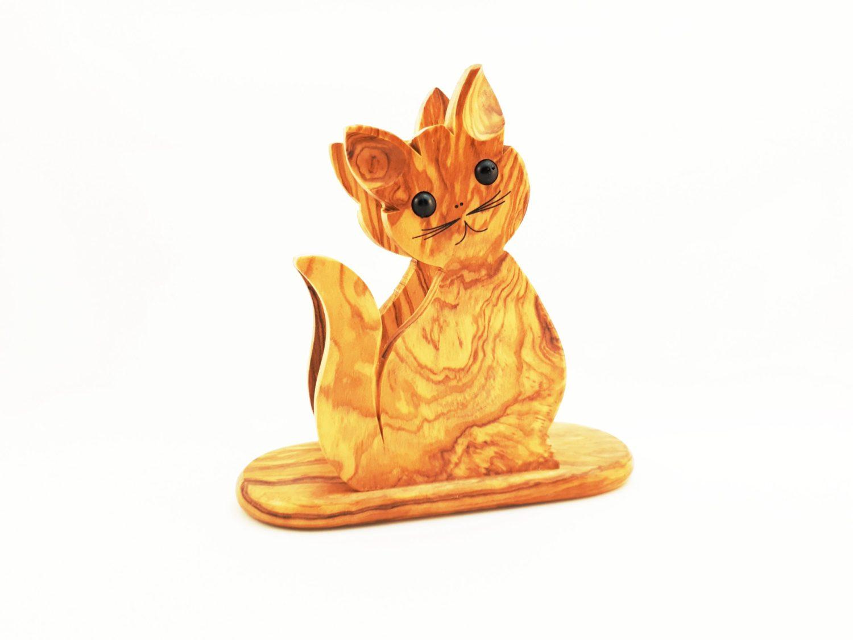 Cat Napkin Holder Aristotleshandcrafts